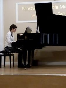 12. Joanna Gronkowska kl.VI Walc cis-mol Fryderyk Chopin - fortepian