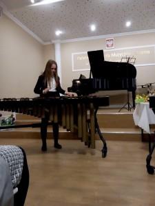 7. Maria Sadło marimba inwencja dwugłosowa nr1